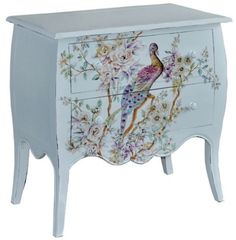 Decoupage Furniture, Hand Painted Furniture, Funky Furniture, Art Furniture, Repurposed Furniture, Furniture Projects, Furniture Makeover, Antique Furniture, Shabby