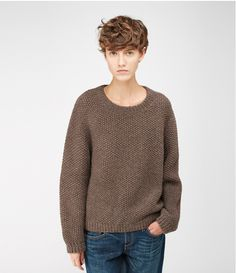 love this sweater (and her hair!)...