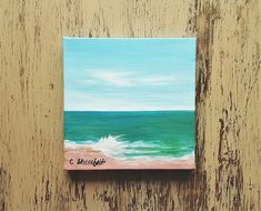 Beach painting Ocean painting Seascape painting Coastal decor Beach house decor Nature painting Under 100 dollars Free shipping US Seascape Paintings, Nature Paintings, Your Paintings, Watercolor Paintings, Original Paintings, Watercolor Cards, Watercolor Flowers, Unique Cards, Beach House Decor