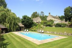 The heated swimming pool takes centre stage on an independent south-west facing terrace and is surrounded by a large patio. The adjacent pool house includes a sauna, kitchen and changing facilities as well as pool pumps. Abnash House.