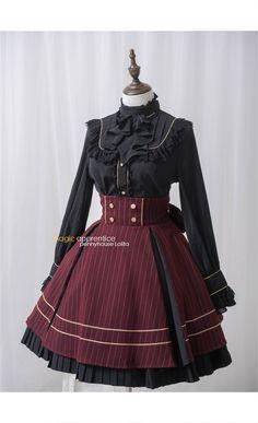 Magic Apprentice-  Classical Lolita Long Sleeves Blouse- Pre-order