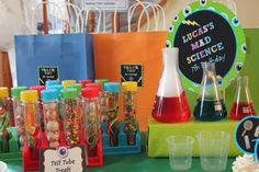 Awesome Mad Science Birthday Party!  See more party ideas at CatchMyParty.com!