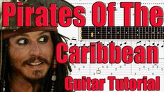 How to play Pirates Of The Caribbean - Easy Guitar Lesson