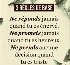Positive Mind, Positive Attitude, Free Mind, Positive Inspiration, French Quotes, Learn French, Positive Affirmations, Beautiful Words, Sentences