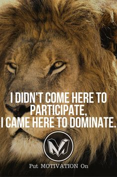 I came here to dominate.Follow all our motivational and inspirational quotes.Follow the link to Get our Motivational and Inspirational Apparel and Home Décor. #quote #quotes #qotd #quoteoftheday #motivation #inspiredaily #inspiration #entrepreneurship #goals #dreams #hustle #grind #successquotes #businessquotes #lifestyle #success #fitness #businessman #businessWoman #Inspirational