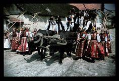 From Kalotaszeg, NHA Néprajzi Múzeum   Online Gyűjtemények - Etnológiai Archívum, Diapozitív-gyűjtemény Folk Costume, Costumes, Travelogue, Folklore, Hungary, Embroidery Patterns, Military, Needlepoint Patterns, Dress Up Clothes