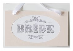 Vintage Bride and Groom templates