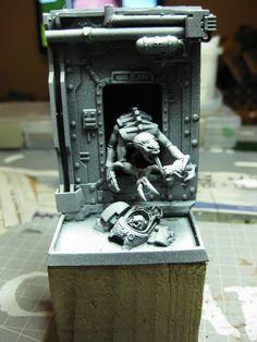 warhammer 40k space hulk diorama - Google Search