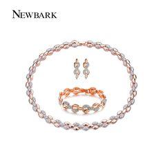 es.aliexpress.com store product NEWBARK-Pearl-Shape-18k-Rose-Gold-Plated-Jewelry-Set-Wheat-Earrings-Necklace-Bracelet-With-Austrian-Rhinestones 528390_32561430884.html?spm=2114.12010612.0.0.lo87AE