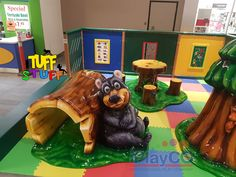Great addition to your shopping/retail mall. Let the children play and let the parents relax. Retail play is best with Tuff Stuff - soft sculpted foam play areas. No moving parts, just fun! Children Play, Kids Play Area, Play Areas, Toddler Play, Commercial Playground Equipment, Play Equipment, Outdoor Playground, Indoor Play, Childrens Hospital