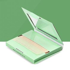 Mirror Case Oil Clear Blotting Paper Blot Pore Control 100 sheets
