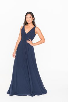 The Brideside Viola Bridesmaid Dress is a great option! Find Brideside bridesmaid dresses at Brideside. Navy Blue Bridesmaid Dresses, Bridesmaid Dresses Online, Prom Dresses, Formal Dresses, Wedding Dresses, Blair Dress, Full Circle Skirts, Party Looks, Drama