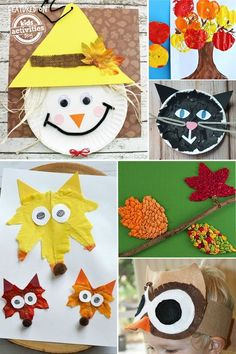 We love these 24 Super Fun Preschool Fall Crafts and we think your kids will too! We're big into kids fall crafts and love creating with our little ones. S Activity Share, Crafts for Kids, Elementary Activities, It's Playtime, Kids Activities (by Age), Pr