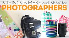 Whether you're outfitting yourself or a friend, you'll love these DIY projects to make and sew for photographers!