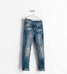 Image 1 of RIPPED JEANS from Zara