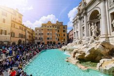 Rome bans eating and drinking near fountains: Travel Weekly Travel Around The World, Around The Worlds, Rome City, Travel Abroad, Overseas Travel, Rome Travel, Trevi Fountain, Travel Dating, Tourist Trap