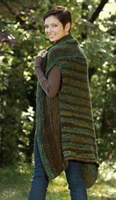 Ravelry: Directions Vest pattern by Amy Polcyn Knit Vest Pattern, Crochet Jacket, Knit Crochet, Knitting Patterns Free, Knit Patterns, Knitting Ideas, Knitting Yarn, Hand Knitting, Knitted Coat