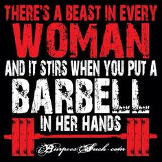 Love lifting weights
