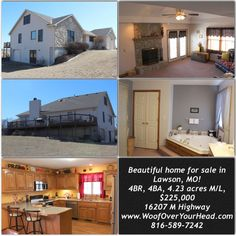 Do you know someone looking for a home? Check out this gem...Just listed in Lawson, Missouri! Beautiful setting! Fantastic schools! Call me for a showing:816-589-7242 sheriwhitt@gmail.com www.WoofOverYourHead.com
