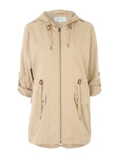 86b20b7c67f Make a practical addition to your collection of wardrobe essentials with  this women s cream lightweight parka