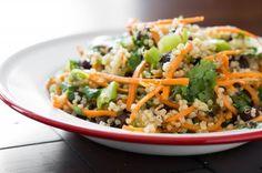 Cumin Lime Black Bean Quinoa Salad by Oh She Glows