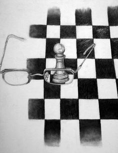 High Quality For My Chess Piece, I Had Used Many Different Strategies And Resources In  Order To Achieve A Realistic Effect Of Lighting, Shadow, And Prop.