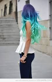 splat hair color ideas - Google Search
