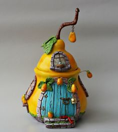1 million+ Stunning Free Images to Use Anywhere Polymer Clay Fairy, Cute Polymer Clay, Polymer Clay Projects, Polymer Clay Creations, Diy Clay, Clay Fairy House, Fairy Houses, Bottle Art, Bottle Crafts