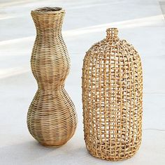 Accent pieces made from natural materials