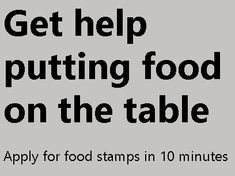 Apply For Food Stamps, Food Assistance, California Food, How To Apply