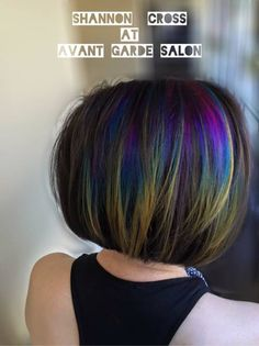 You've probably heard the name floating around in the beauty industry  lately--Oil slick hair. Read on if you'd like to find out how it's done,  how much it costs, and who this hair works best for!  We're always looking for new hair trends to keep us fresh in the industry.  If you're not learning and growing, you're dying! The latest trend to come  from (where else?) Instagram is oil slick hair. This trend models the  colors you'll find in an oil slick on water, or gasoline spilled on the…