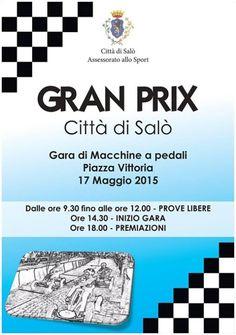 Domenica 17 maggio 2015 a Salò si corre il Grand Prix Città di Salò @gardaconcierge