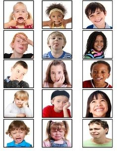 Autism- Autism Emotions Sorting Board and Flashcards