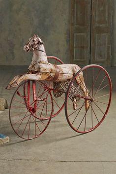 Le Cheval De L'enfant - Vintage Tricycle, Antique Child's Tricycle | Soft Surroundings