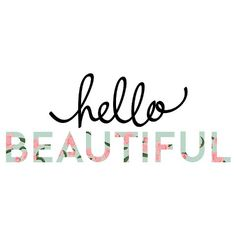 The Hello Beautiful Wall Decal adds a fresh touch to a wall with its playful script and floral print. Great for a dorm room or bedroom, this wall decor is an easy fit with a variety of design styles. Maskcara Makeup, Contour Makeup, Contouring And Highlighting, Hello Beautiful, Beautiful Wall, Fast Makeup, Nicole S, Layered Fashion, Wall Decals