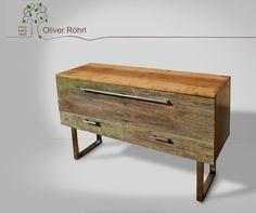Sideboards - Sideboard Eiche - ein Designerstück von Oliver-Roehrl bei DaWanda