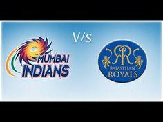 Rajasthan Royals Vs Mumbai Indians IPL 2015 Live Streaming RR vs MI 14 April 2015