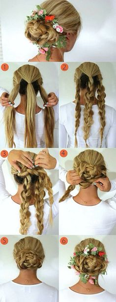 Braided Updo... minus the flowers