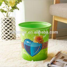 Desktop Storage barrels plastic clamshell color mini Plastic bucket dustbin Rubbish Bin Trash cans