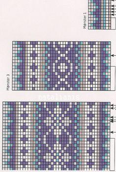 Fair Isle Knitting Patterns, Fair Isle Pattern, Knitting Charts, Knitting Designs, Knitting Stitches, Sock Knitting, Knitting Tutorials, Free Knitting, Fair Isle Chart
