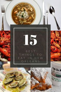 New Orleans has one of the most distinctive cuisines in the United States. What should you eat while you're there? These are the 15 best things to eat in NOLA. Cinnamon Apple Chips, Food Inspiration, Travel Inspiration, Travel Ideas, New Orleans Recipes, Louisiana Recipes, New Orleans Travel, Foodie Travel, Places To Eat