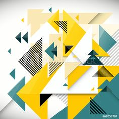 Abstract geometry background