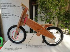 BABYCYCLES: Fabriquer une Draisienne!