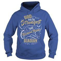 GUADIAN, GUADIANTshirt If youre lucky to be named GUADIAN, then this Awesome shirt is for you! Be Proud of your name, and show it off to the world! #gift #ideas #Popular #Everything #Videos #Shop #Animals #pets #Architecture #Art #Cars #motorcycles #Celebrities #DIY #crafts #Design #Education #Entertainment #Food #drink #Gardening #Geek #Hair #beauty #Health #fitness #History #Holidays #events #Home decor #Humor #Illustrations #posters #Kids #parenting #Men #Outdoors #Photography #Products…