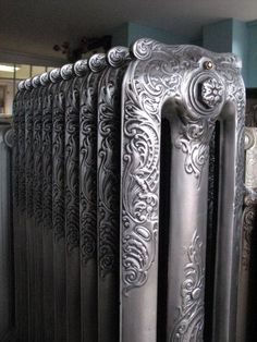 Ornate 3 column Princess Radiator with Ornate Centrefrom Architectural Treasures