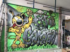 Marsupilami Graffiti Workshop, Urban Art, Kunst, Painting Art, City Art, Street Art