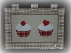 copriforno Quilted Wall Hangings, Tea Towels, Couture, Sewing Projects, Shabby Chic, Patches, Diy, Quilts, Banner