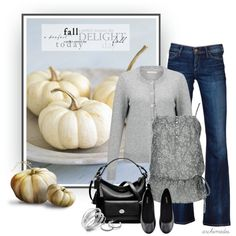 A Perfect Autumn Day by archimedes16 on Polyvore featuring John Lewis, Daytrip, Goldsign, H&M, Coach and Alfani