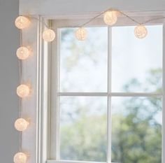 Crochet Lace String Lights from Pottery Barn