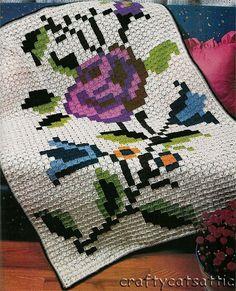 Gallery.ru / Фото #19 - Вместо вышивки - вязание по той-же схеме - lenkner